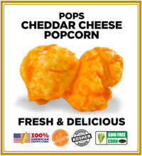 Load image into Gallery viewer, Cheddar Cheese Popcorn 🧀 Pops Bulk Popcorn Bags. Made fresh to order! ?✔ Pops Corn