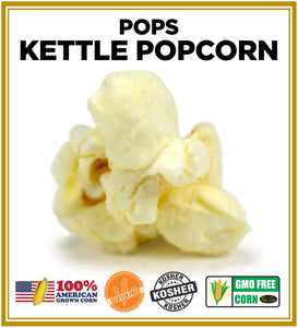 Gourmet Kettle Corn - Sweet & Salty 😀🤸‍♂️ Pops Bulk Popcorn Bags. Made fresh to order! ?✔ vendor-unknown