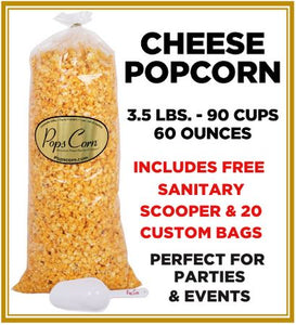 Cheddar Cheese Popcorn 🧀 Pops Bulk Popcorn Bags. Made fresh to order! ?✔ Pops Corn