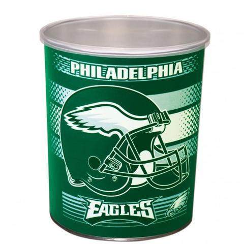 Philadelphia Eagles One Gallon Sports Popcorn Tin vendor-unknown