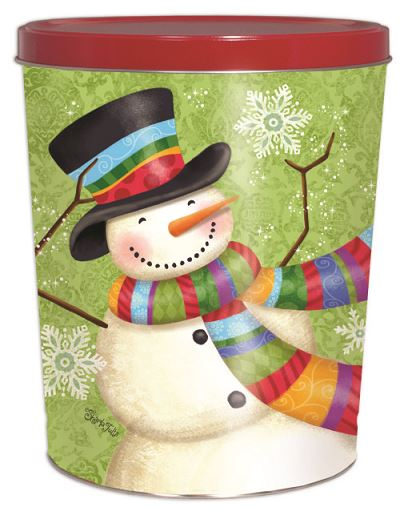 4 Gallon Scarf Snowman Father's Day Tins vendor-unknown Default Title