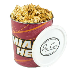 Miami Heat One Gallon-Free Shipping Sports Popcorn Tin vendor-unknown
