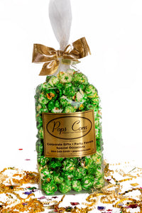 Gourmet Green Popcorn Party Favor New vendor-unknown
