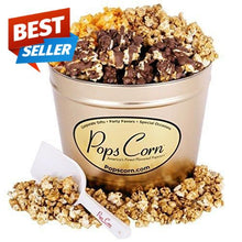 Load image into Gallery viewer, 2 Gallon Gold-3 FLAVORS! Signature Tins Pops Corn
