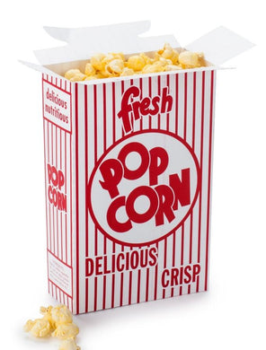 12 Popcorn Boxes-EMPTY Popcorn Supplies Pops Corn