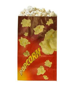 12 Popcorn Bags- EMPTY Popcorn Supplies Pops Corn