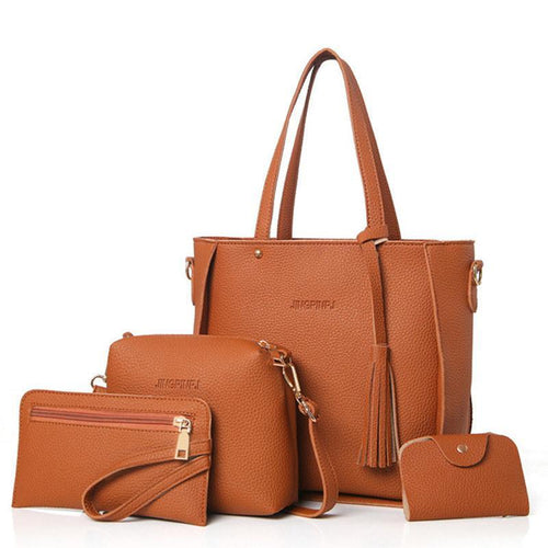 Female Bag Set Big Capacity Handbag