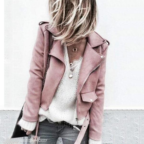 Fashion Casual Slim Plain Thermal V Collar Long Sleeve Zipper Jacket Cardigan