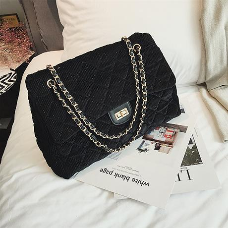 Simple Diamond Chic Bag Chain With Large Capacity Bag