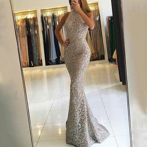 Casual Sexy Sleeveless Evening Party Maxi Dresses