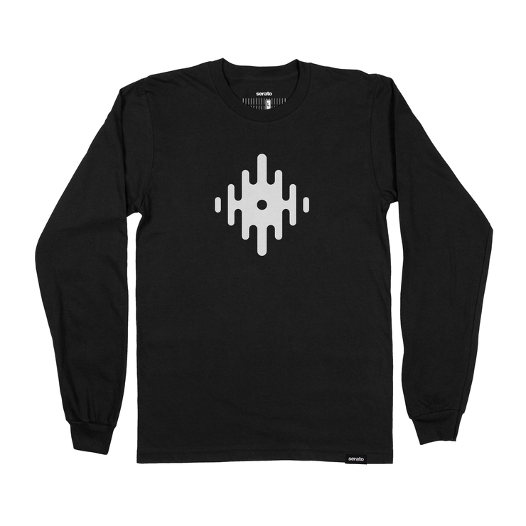 Long Sleeve Serato Waveform T-Shirt