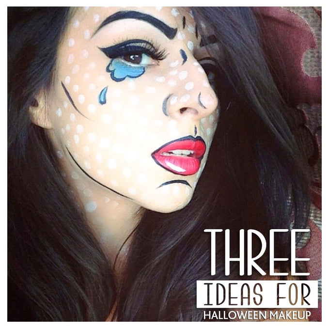 Three ideas for Halloween makeup