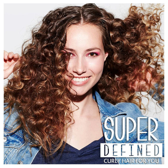 Looking for a super curly defined hair?