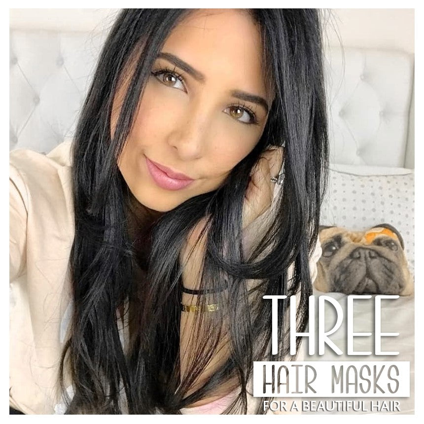 Three hair masks for a beautiful hair