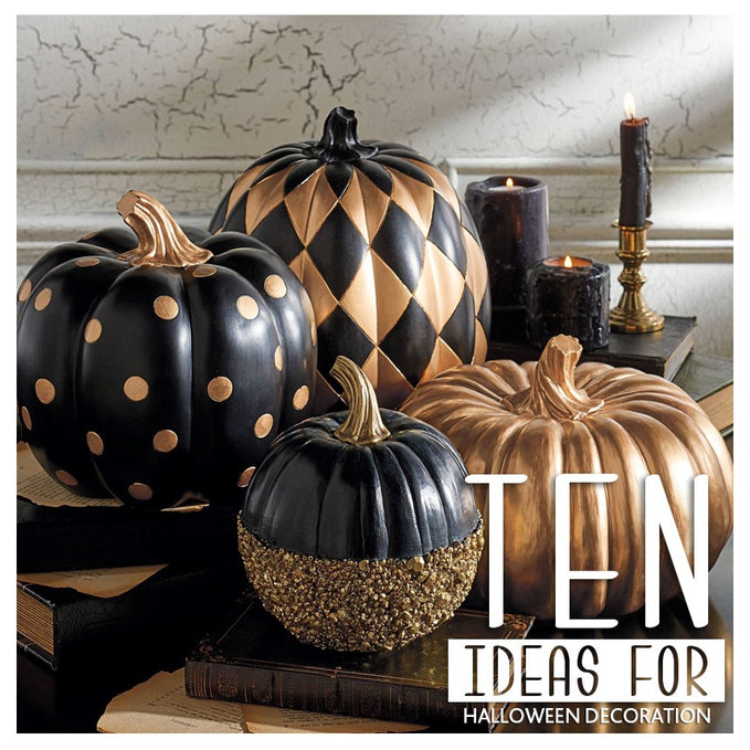 Ten ideas for Halloween Decoration