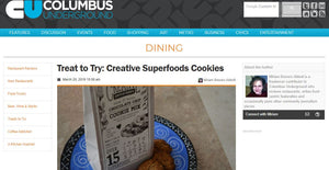 Creative Superfoods featured in Columbus Underground Magazine!