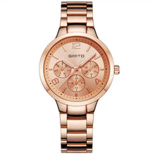 Load image into Gallery viewer, Women's Rose Casual Watch