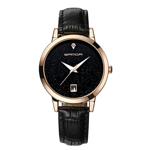 Women's Luxury Star Dial Watch