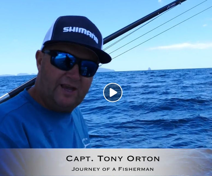 Tony Orton from Journey of a Fisherman - Offshore Adventures