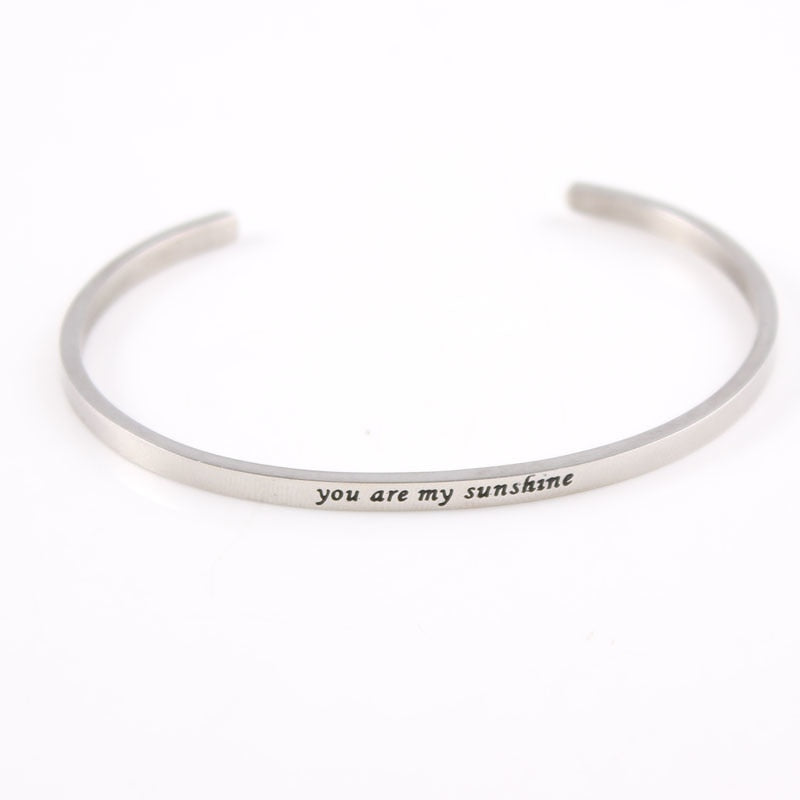 YOU ARE MY SUNSHINE Bracelet