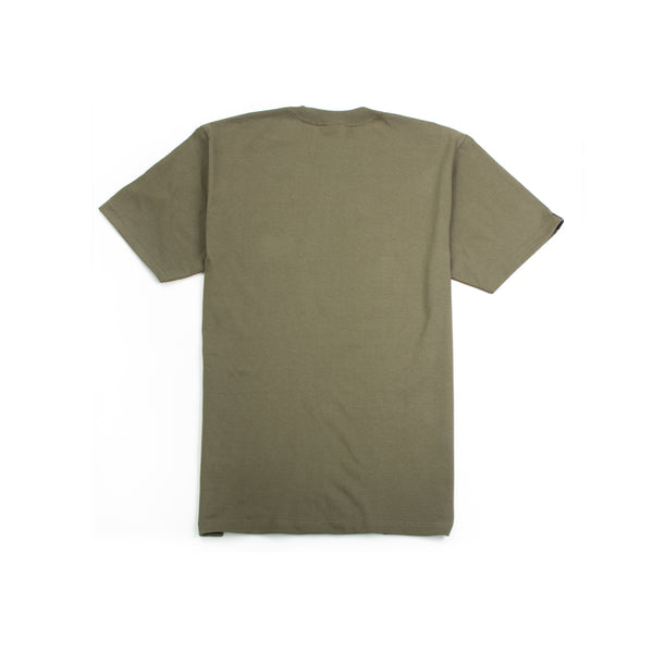 ABOVE ALL Storm T-Shirt Olive Back