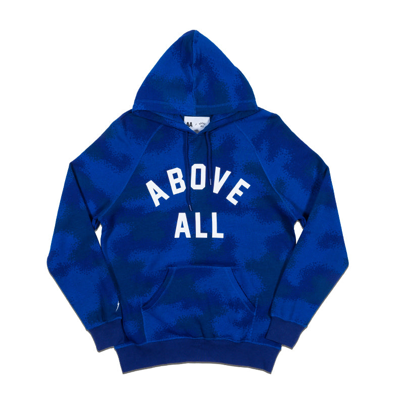 ABOVE ALL Hoodie Spray Camo