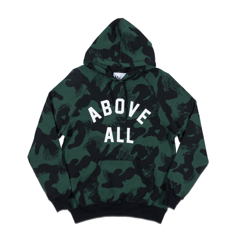 ABOVE ALL CAMO HOODIE
