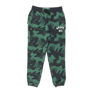ABOVE ALL CAMO SWEATPANTS Jungle Camo Front