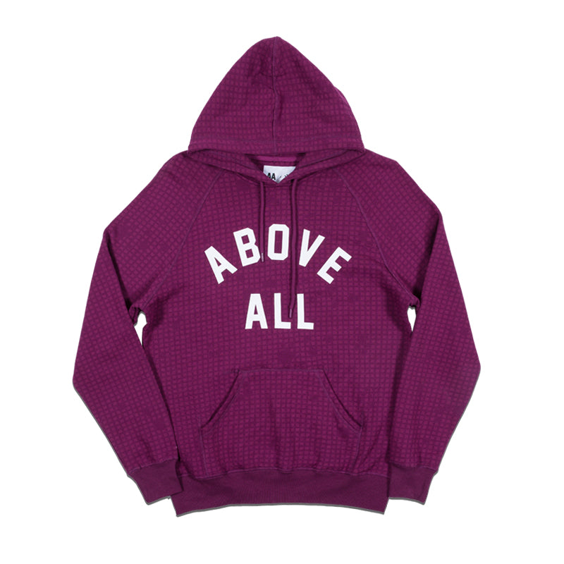 ABOVE ALL Hoodie Grid Camo
