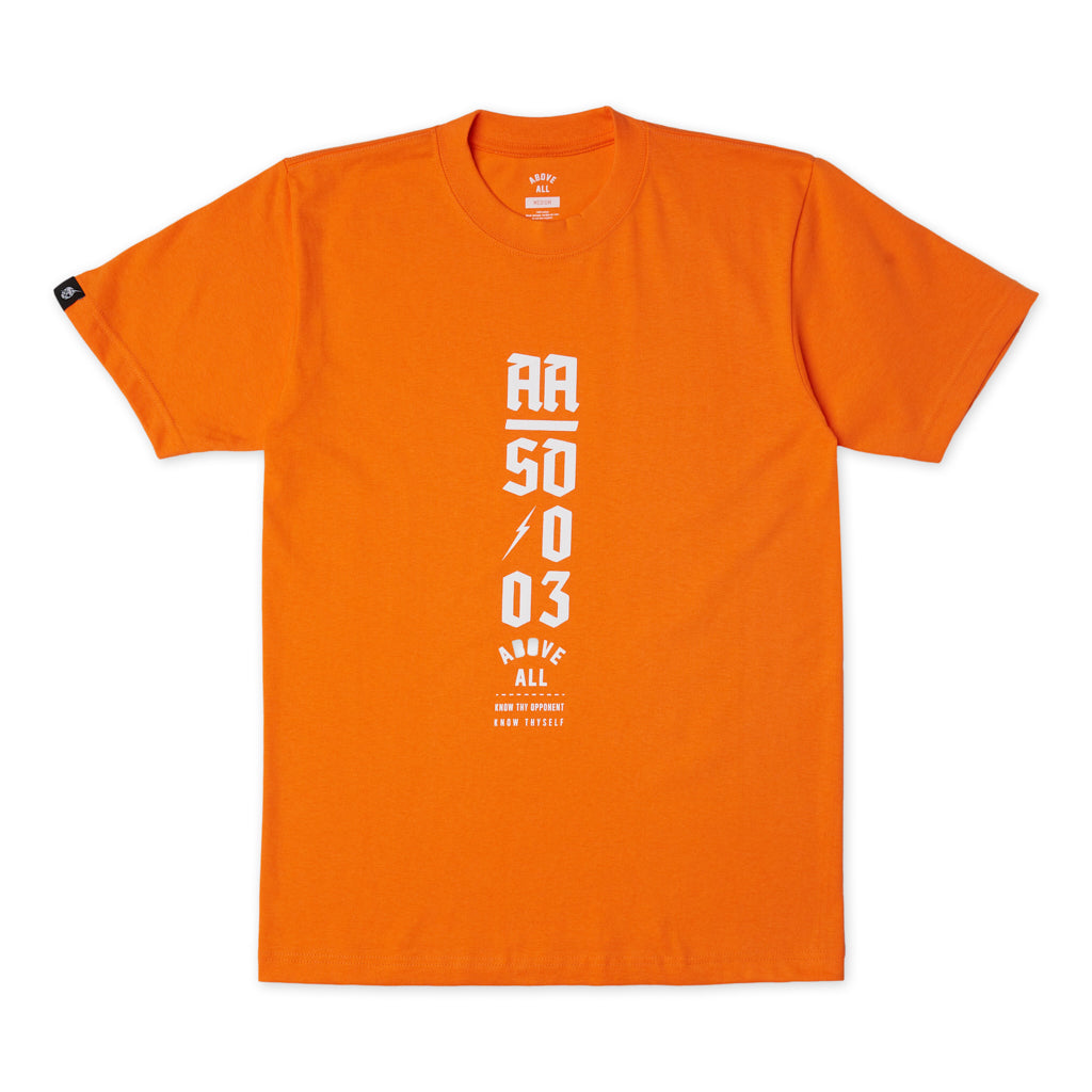 Blitzkrieg T-Shirt Orange Front