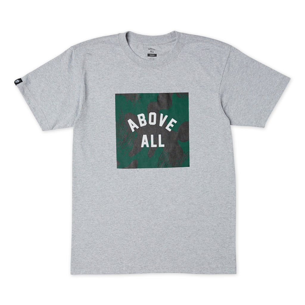 AA BOX T-SHIRT JUNGLE CAMO Front