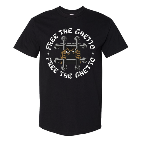 PEEZY -  Free The Ghetto Black Tee