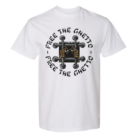 PEEZY -  Free The Ghetto White Tee