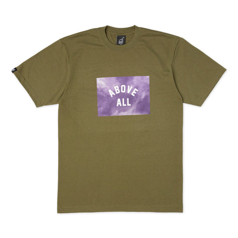 ABOVE ALL Storm T-Shirt Olive Front