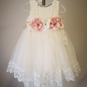 Cream White Amani Dress