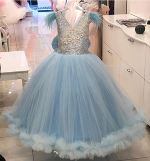 Pale Blue Cinderella Dress