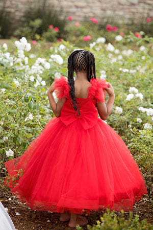 Red Cinderella Dress