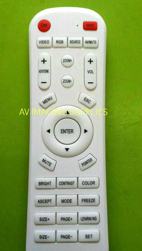 Universal Projector Remote in India for LCD/ DLP Projectors - projector-lamp-india