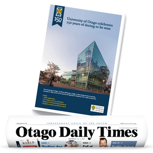 University of Otago 150th Anniversary Edition ODT and Tabloid