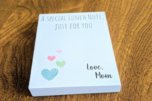 Lunch Notes Notepad