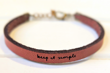 Load image into Gallery viewer, Handcrafted Leather Bracelets
