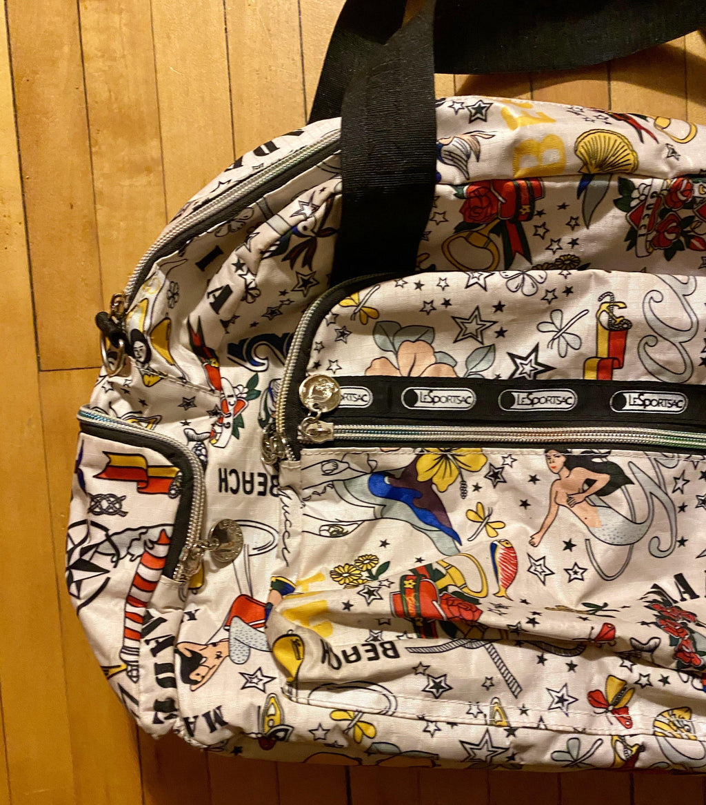Mermaid Lesportsac Duffle