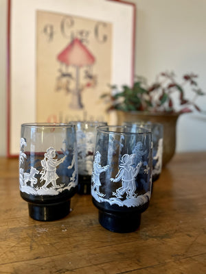Children Glass Set of 4