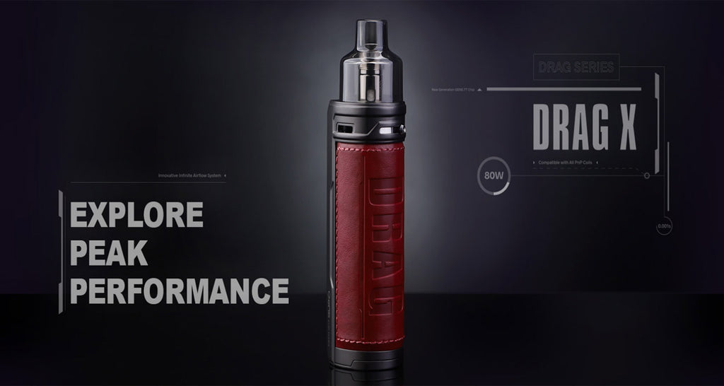 Voopoo Drag X 80W Mod Pod Kit 4.5ml