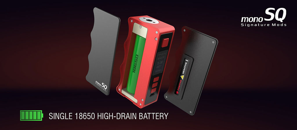 Dovpo Mono SQ DNA75C Mod - DNA75C BOX MOD - Single 18650 Battery