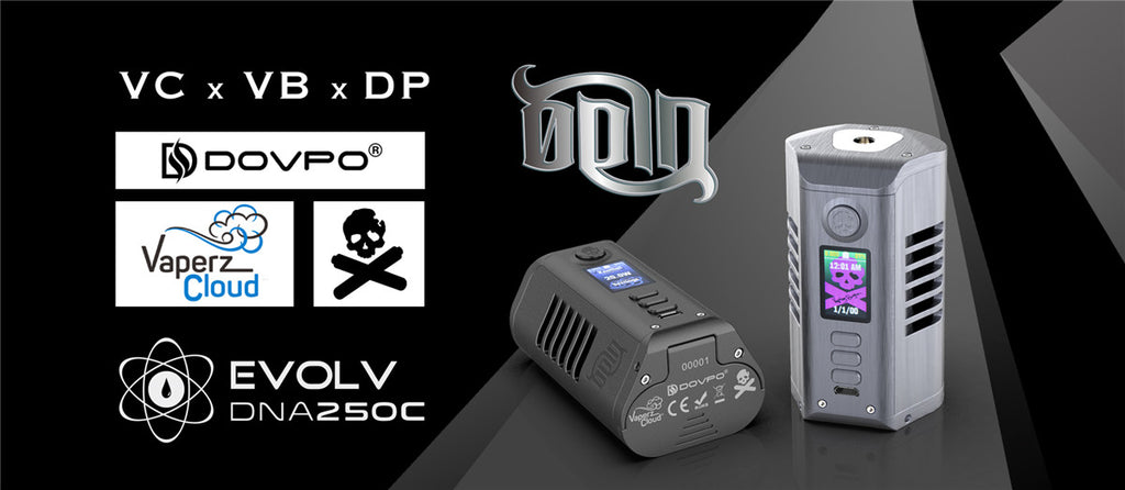 Dovpo Odin DNA250C Mod - Vaperz Cloud - The Vaping Bogan
