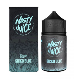 Berry Series By Nasty Juice - Sicko Blue - Blue Raspberry - 60ml