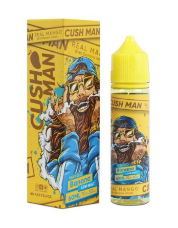 CushMan By Nasty Juice - MANGO BANANA - Low Mint - 60ml