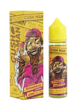 CushMan By Nasty Juice - Mango Strawberry - Low Mnt - 60ml