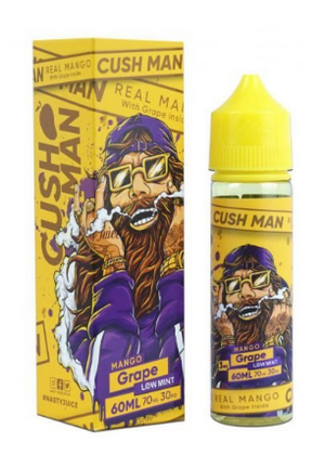 CushMan By Nasty Juice - REAL MANGO W/GRAPE - Low Mint - 60ml